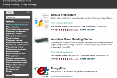 Building Energy Software Tools Directory