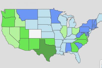 Rainwater Harvesting Regulations Map