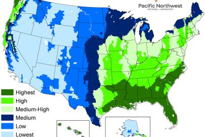 Rainwater Availability Map