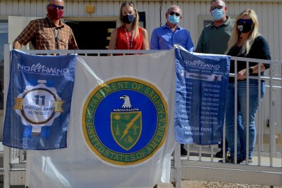 Moab Marks Milestone of Moving 11 Million Tons of Mill Tailings for Disposal