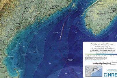DOE Publishes 100-Meter Mid-Atlantic Wind Resource Maps and Tutorial