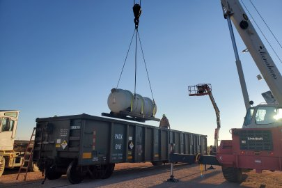 Milestone Reached as First Shipment of Uranium Oxide Reaches Final Disposition
