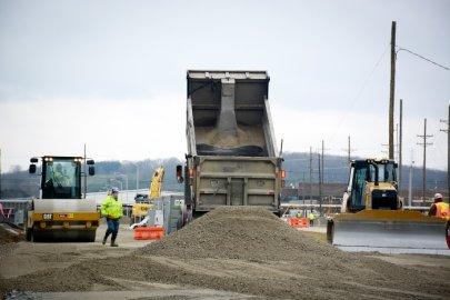 EM Building New Road to Deliver Portsmouth Demolition Debris to On-Site Disposal