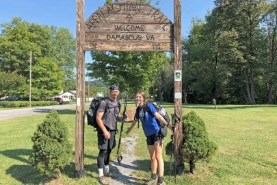 Savannah River Site employee takes COVID-19 social distancing to new heights hiking Appalachian Trail with daughter