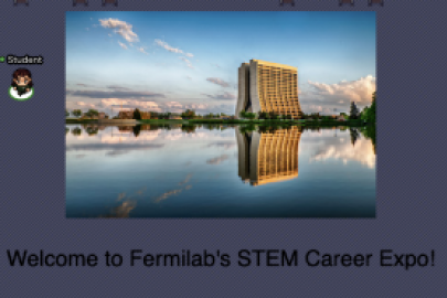 Attend Fermilab's STEM Career Expo on April 21.