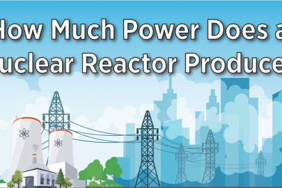 INFOGRAPHIC: How Much Power Does A Nuclear Reactor Produce?