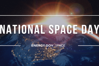 We're Looking Up – Propelling Space Exploration at the Department of Energy