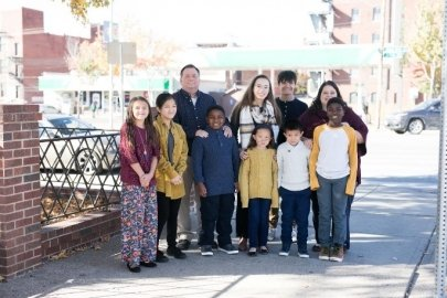 Kansas City Field Office employee stays busy with eight children, six of them adopted