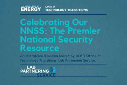 LPS Presents: Celebrating Our NNSS: The Premier National Security Resource
