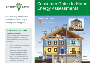 Consumer Guide to Home Energy Assessments Fact Sheet