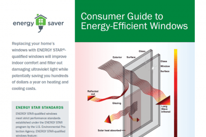 Consumer Guide to Energy-Efficient Windows