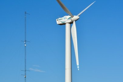 DOE Commissions Open-Source Wind Turbine for Wake Control Research