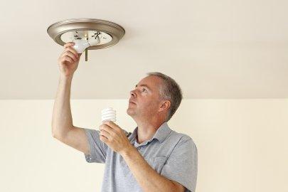 Replacing Lightbulbs and Fixtures