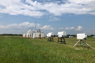 Collecting New Data on Atmospheric Particles like Pollution for Storm Forecasting and Climate Models