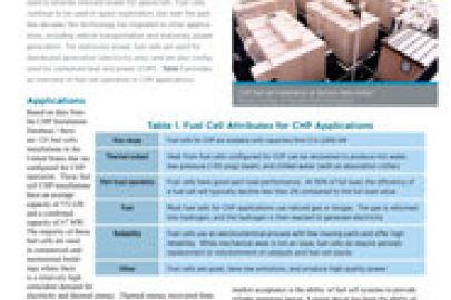 Fuel Cells CHP Technology Fact Sheet - July 2016