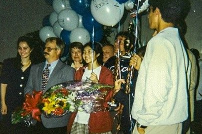 Champions in Science: Profile of Candice Kamachi, National Science Bowl® Champion (1996)