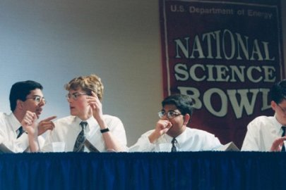 Champions in Science: Profile of Andrew Mills, National Science Bowl® Champion (1999)