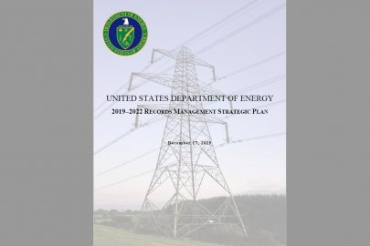 2019-2022 Records Management Strategic Plan