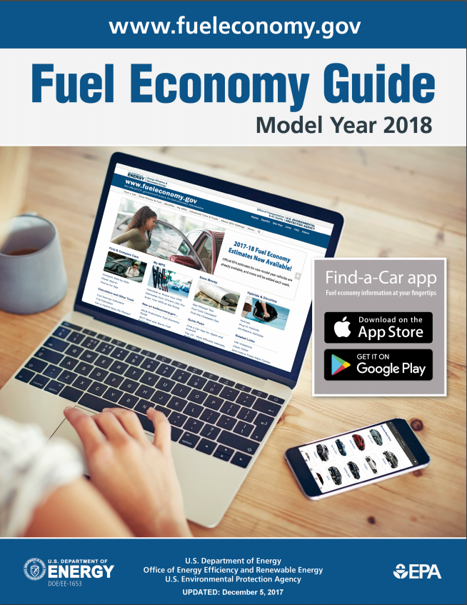 2018 Fuel Economy Guide Helps Consumers Save Money   Department of ...