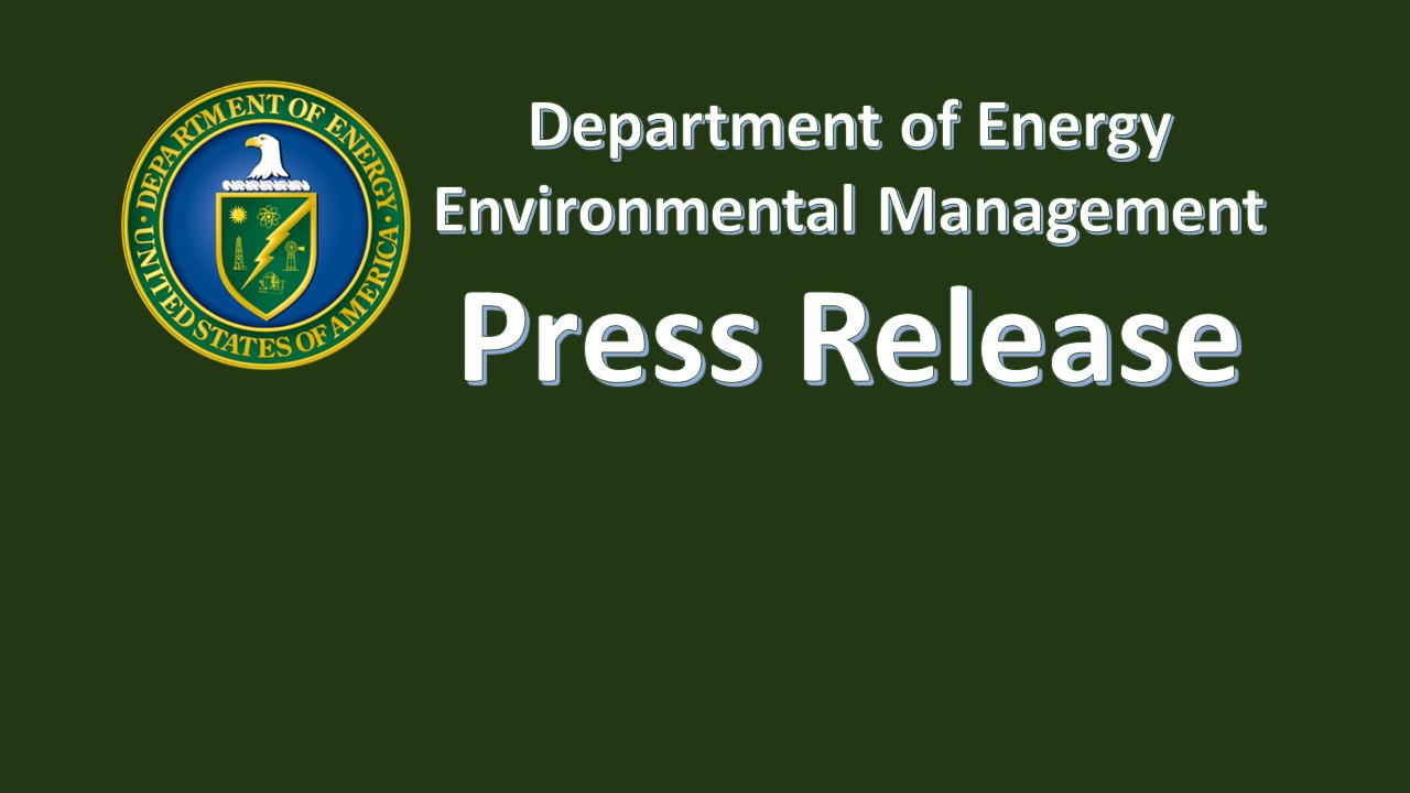 DOE Releases Final Request for Proposal for Environmental Management