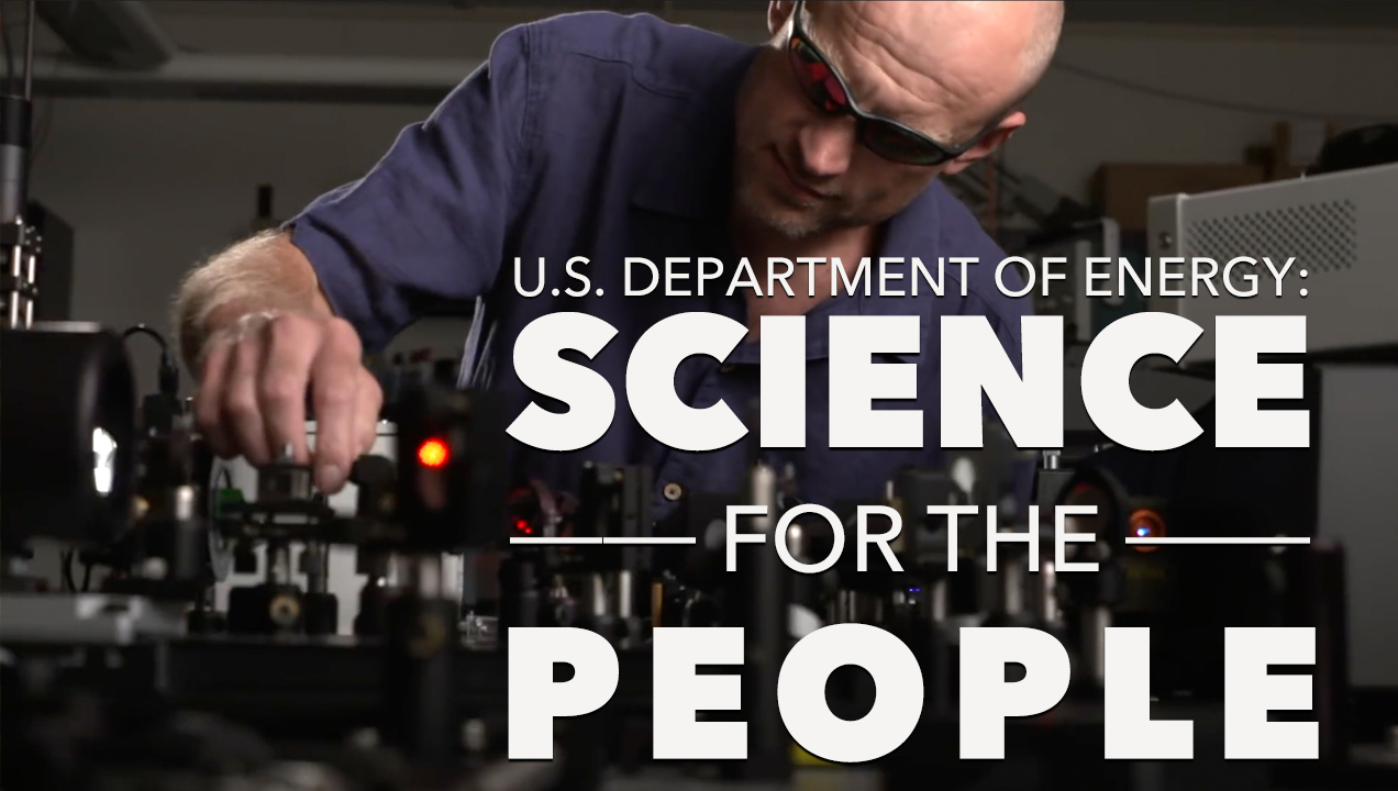 Image result for U.S. Department of Energy: Science for the People