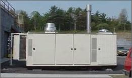 Photo of Plug Power 50 kW Fuel Cell at the City of Las Vegas Fleet and Transportation Western Service Center