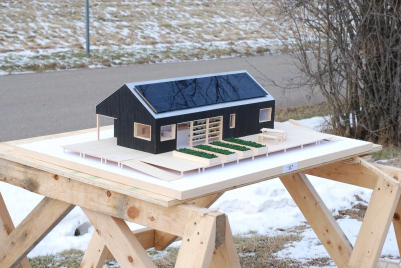 Solar energy house projects