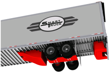 "The undercarriage of a specially designed ""Smart Truck"""