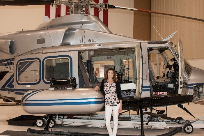 Jessica Thomason, emergency response specialist II and operations lead for the aviation section at the Remote Sensing Laboratories in Nevada and Maryland.