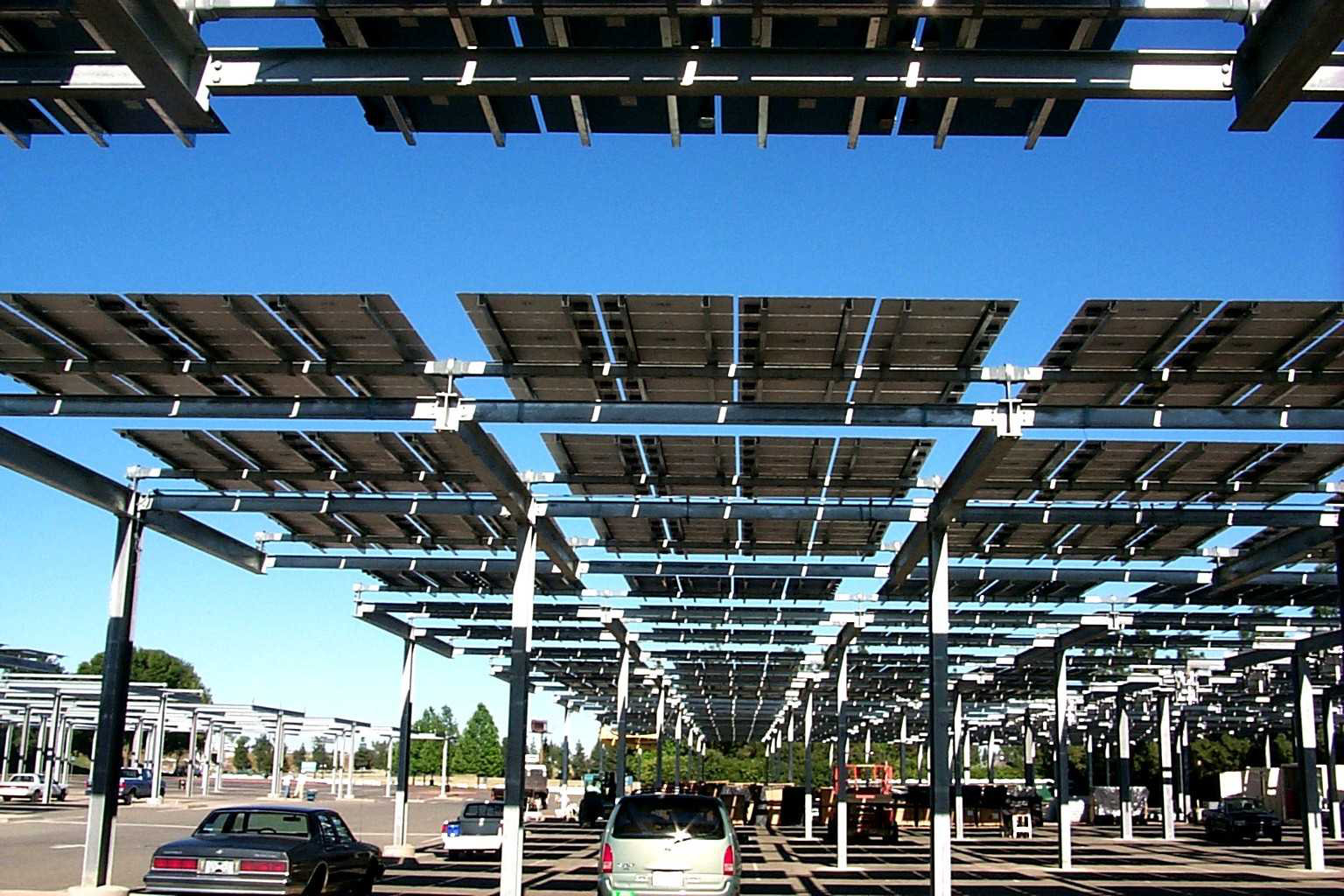 Solar Parking Structure In California Department Of Energy