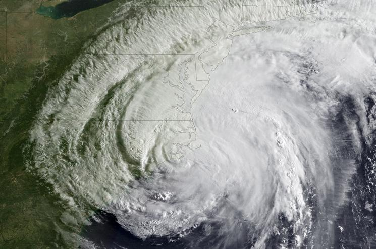 Hurricane Irene made landfall on the coast of North Carolina as a Category 1 hurricane during the 2011 Atlantic hurricane season. It was the ninth named storm, first hurricane, and first major hurricane of the 2011 hurricane season. | Photo courtesy of the National Oceanic and Atmospheric Administration.