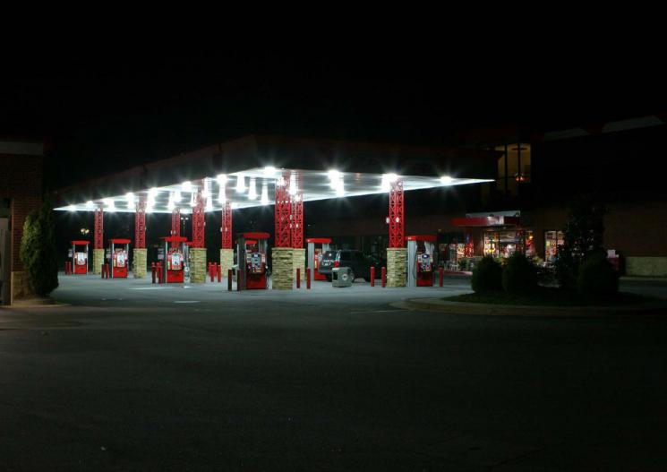 One of several Georgia convenience stores that improved lighting while saving energy and money. | Courtesy of Outlaw Consulting, Inc.