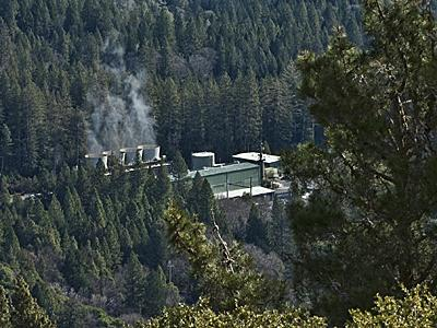 Calpine operates 15 plants at The Geysers in northwest California, which generate enough clean energy daily to power a city the size of San Francisco.| Photo Courtesy of Calpine