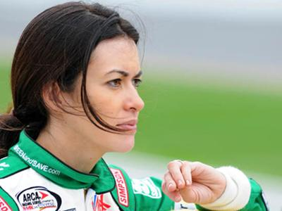 Leilani Münter adopts an acre of rainforest for every race she drives in. | Photo courtesy of Phil Cavali