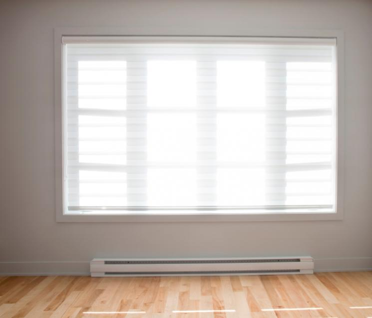 Baseboard heaters are one type of electric resistance heaters. | Photo courtesy of ©iStockphoto/drewhadley