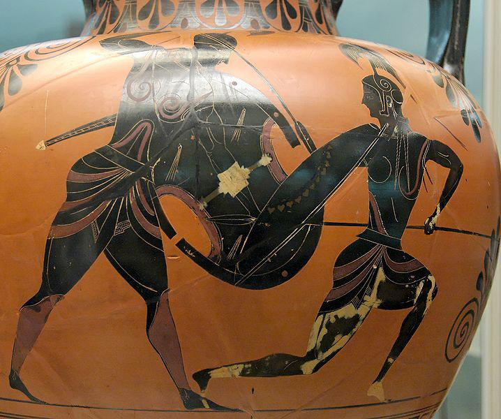 An Attic black-figured amphora, currently in the British Museum, of the type that will be studied at SLAC.  | Photo by Marie-Lan Nguyen, Courtesy of SLAC National Accelerator Laboratory