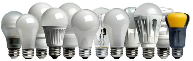 LED lighting can be forced into an Edison-Screw bulb.  Image from U.S. Department of Energy.
