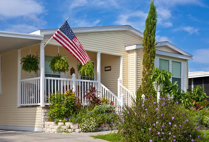 There are many opportunities to improve the energy efficiency of manufactured homes. | Photo courtesy of ©iStockphoto.com/Marje