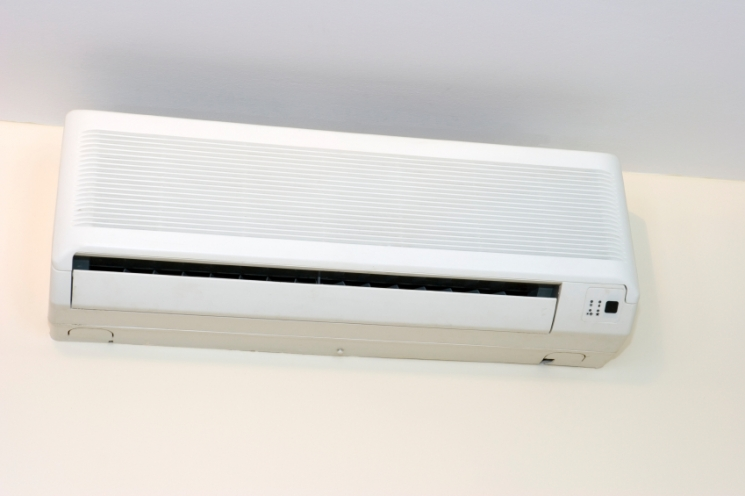 Wall Ceiling Mounted Ductless System Interior