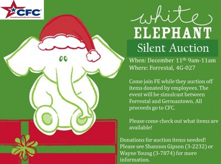 White Elephant Silent Auction