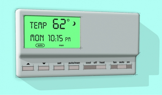 Use a programmable thermostat to automatically turn down the heat at night or when you\u0027 & Program Your Thermostat for Fall and Winter Savings | Department of ...
