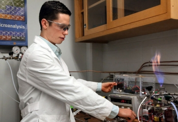 """Felipe Gomez of FGC Plasma Solutions developed new, energy-efficient fuel injector technology that enabled the startup to <a href=""""/node/1047536"""">win a regional round</a> of the Energy Department's National Clean Energy Business Plan Competition. He was also honored at a White House event this week celebrating emerging entrepreneurs. 