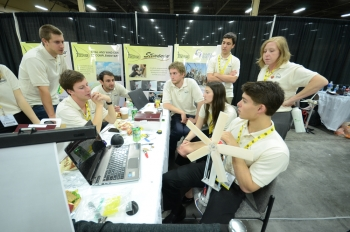 "… Will blow you away. This week, 150 students at 10 universities across the U.S. competed in the <a href=""/node/909851"">Collegiate Wind Competition</a>, which took place at the American Wind Energy Association's annual conference. Over the course of three intense days, the students put their wind turbines through rigorous performance testing, crafted their own business plans and pitched their turbine designs to wind industry leaders.
