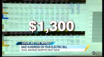 "Small business owner Steve Kaplan told ABC News' ""Show Me the Money"" on Good Morning America that he's saving over $320 per month compared to last summer, which they calculated could result in $1,300 a year."
