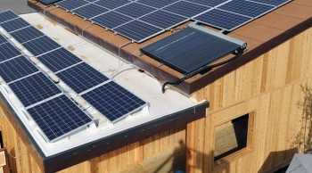 The 30% tax credit for solar electric and solar water heating systems has been extended through 2019, gradually decreasing until 2021.