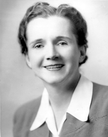 """Rachel Carson, renowned environmentalist and author of """"Silent Spring"""", is the first subject of our Women's History Month #ThrowbackThursday.   Photo courtesy of the U.S. Fish and Wildlife Service."""