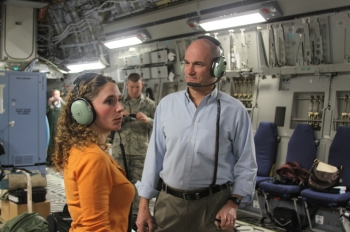 NNSA Administrator Thomas D'Agostino appeared live last night to break the news with Rachel Maddow that all remaining weapons-usable material has been successfully removed from Mexico.   Photo courtesy of the NNSA.