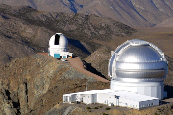 This is an artist's rendering of the Large Synoptic Survey Telescope (LSST), the 8.4 meter wide-field telescope that the National Science Board recently approved to advance to its final design stage. Construction is expected to begin in 2014 and take about five years. | Photo courtesy of LSST Corporation.