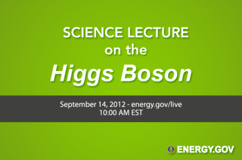 WATCH LIVE: Talking the Higgs Boson with CERN