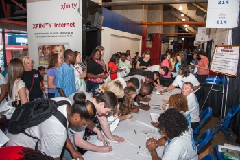 DOE Sponsored College Night Draws Thousands